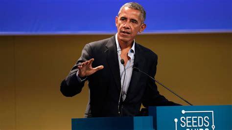 bush the climate skeptic banks a million dollar barack obama earns 3 million for speech in milan