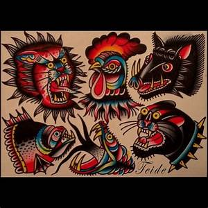 traditional rooster tattoo - Google Search | Tattoo ...
