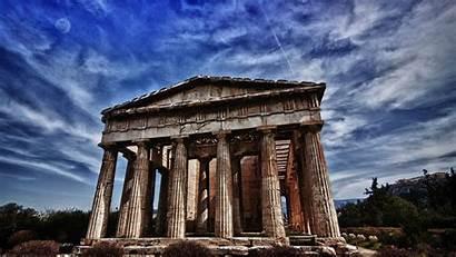 Greek Ancient Greece Architecture Temple Roman History
