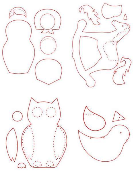 free patterns for felt ornaments vintage christmas craft