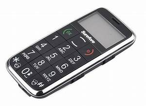 Mobile Phone Dedicated To Senior Or Visually Impaired