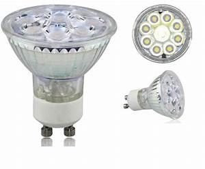 Ampoule Led 220v : 1 ampoule led maison gu10 5 4w a 9 led smd 220v couleur ~ Edinachiropracticcenter.com Idées de Décoration