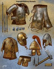 Scythian Weapons and Armor