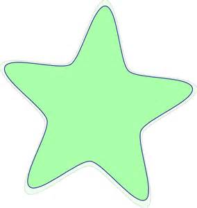 Green Star Clip Art