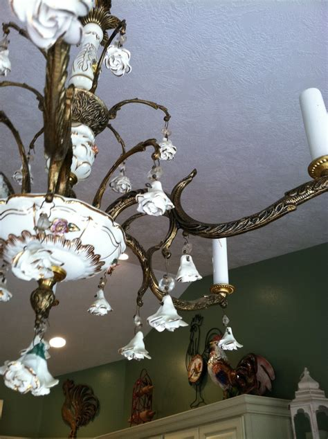 simply shabby chic chandelier natural homemade living shabby chic chandelier