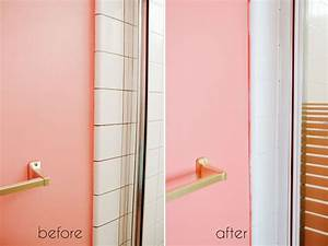 10 home renovation projects you have to try ramshackle glam for Bathroom tile paint kit