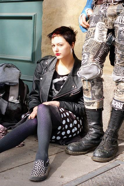 beautiful street punk     portland saturday