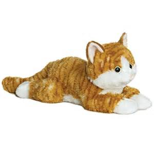 stuffed cats chester the stuffed orange tabby cat by