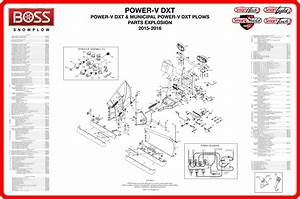 32 Boss V Plow Parts Diagram