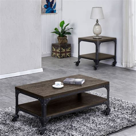 3 piece coffee table set ** louisa 3 piece coffee table set ** georgette 2 piece coffee table set ** yasmine 2 piece coffee table set ** simpson 2 piece our complete review, including our selection for the year's best real wood coffee table sets, is exclusively available on spyer home decor. Light Rustic Wood Coffee table with wheels Set, (Coffee Table & End Table) - Walmart.com ...