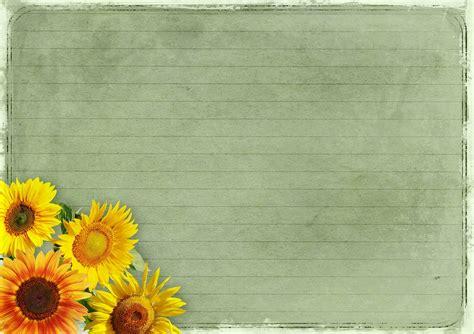 photo flowers background image frame vintage sunflower max pixel