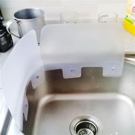 kitchen sink splash guard plastic 2017 2 creative home kitchen wash basin sucker vacuum