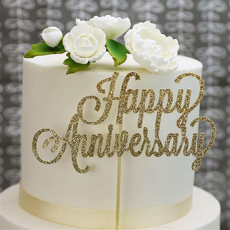 50th wedding anniversary cake decorations