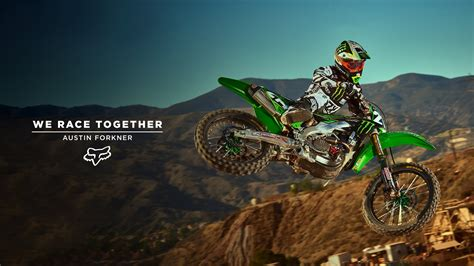 how to get into motocross racing fox mx presents austin forkner we race together youtube