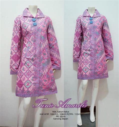 jual tunik amarilis batik murahbatik trendybatik