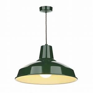 Industrial, Retro, Style, Metal, Ceiling, Pendant, Light, In, Racing, Green