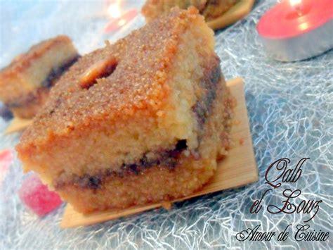 cuisine samira chamia kalb el louz mahchi patisserie algerienne amour