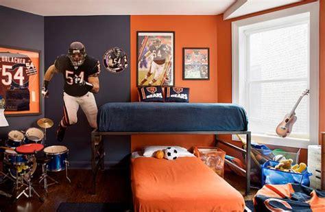 sport en chambre décorer garçons chambres idées de décoration chambre