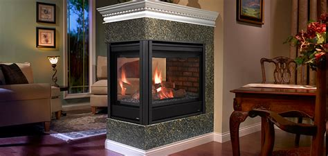 peninsula gas fireplace heatilator peninsula gas fireplace