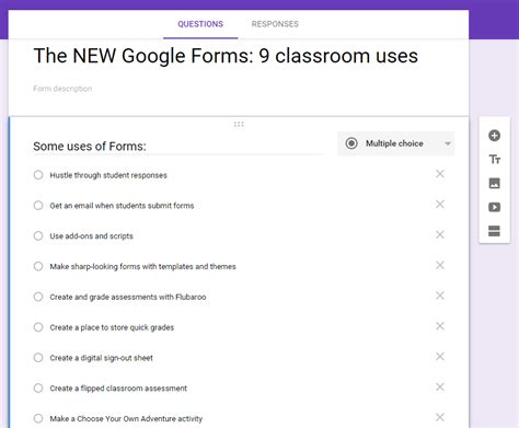 google forms  classroom  ditch  textbook
