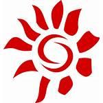 Sun Abstract Clip Icon Clipart Vector Svg