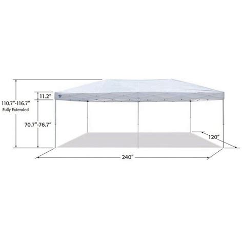 shade    foot everest instant canopy camping outdoor patio shelter white target
