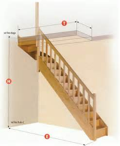 Tremie Escalier 1 4 Tournant Haut pin escaliers flin on pinterest