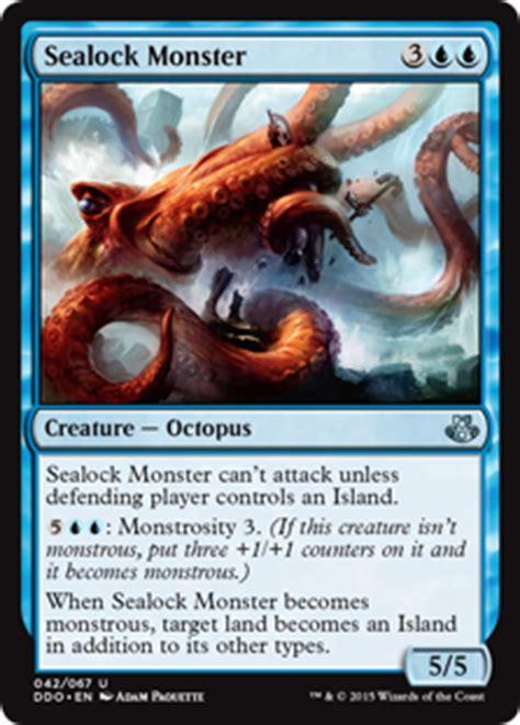 Mtg Kiora Kraken Deck by Sealock Magic The Gathering Duel Decks Kiora Vs