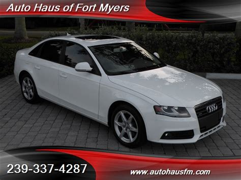 audi fort myers 2009 audi a4 2 0t quattro ft myers fl for in fort
