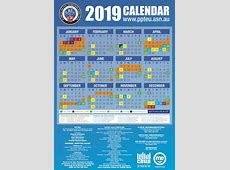 PPTEU RDO Calendar for the current year