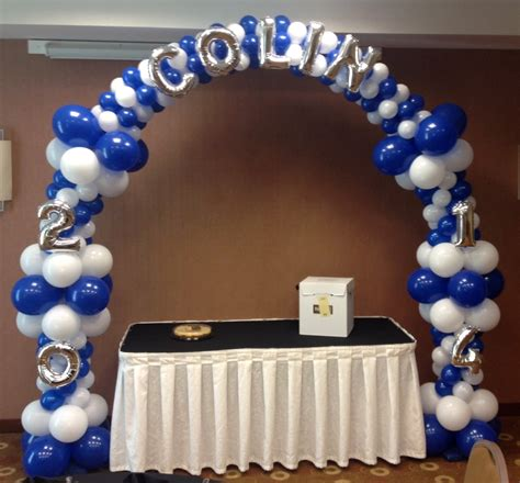 graduation balloons graduation columns graduation