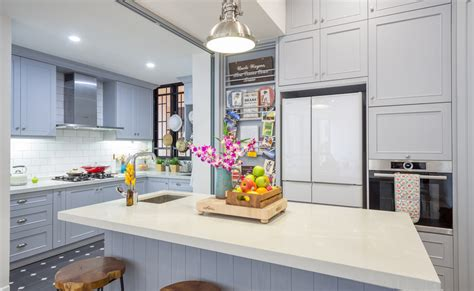country style scandinavian style kitchen  renovation