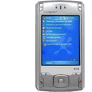 cingular  aka  htc wizard   smartphone