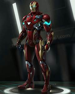 Iron man new suit design | fan art paint and draw ...