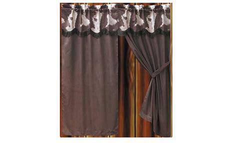 Cowhide Valance - curtain quot cowhide design quot