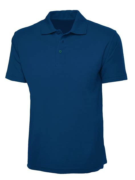 Kerah Apple plain aqua blue polo shirt cutton garments