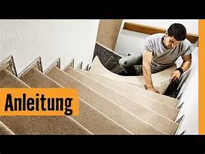 Teppich Auf Treppe Verlegen : teppich auf treppe verlegen hornbach meisterschmiede youtube ~ Orissabook.com Haus und Dekorationen