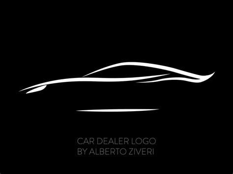 Car Dealer Logo For A Parent By Alberto Ziveri