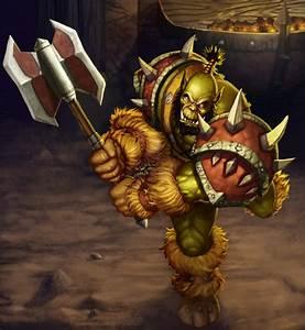 Orc Warrior by rainerpetterart on DeviantArt