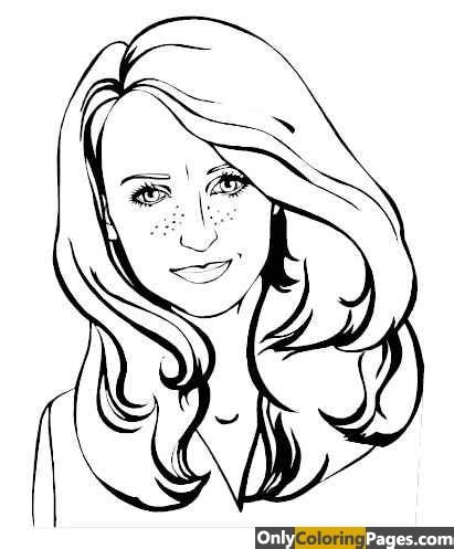 realistic face coloring pages  coloring pages