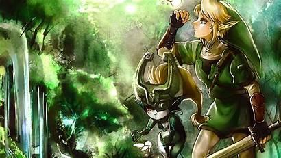 Midna Link Zelda Wolf Legend Background Wallpapers
