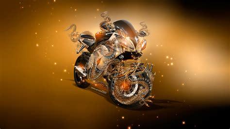 moto yamaha  super fantasy dragon aerography  bike