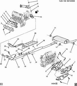 2014 Chevy Equinox Exhaust System Diagram