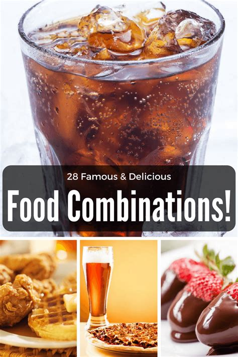28 food flavor combinations