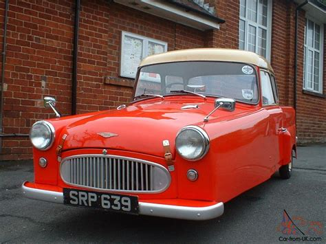 3 Wheel Car For Sale by 1959 Bond Mkf Three Wheeler Classic