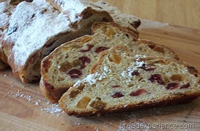 traditional christmas stollen holiday breads