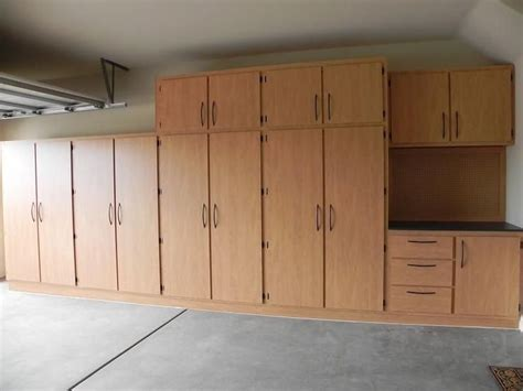 building plywood cabinets for garage free garage storage cabinet plans woodworking projects