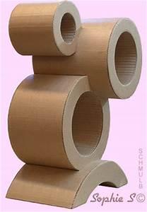 Meuble En Carton Design : meuble carton aux formes tr s rondes ~ Melissatoandfro.com Idées de Décoration