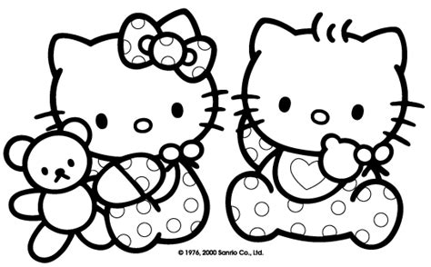 lovetheprimlook2: Baby Hello Kitty Coloring Pages