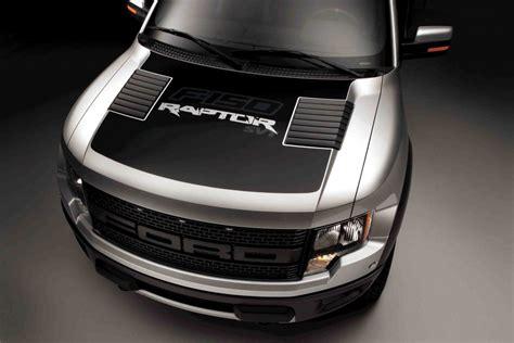 ford offers   raptor matte black hood decal  nod